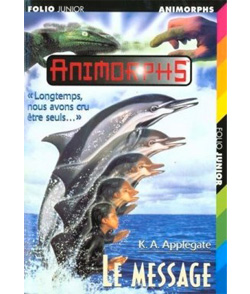 animorphs le message